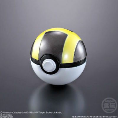 Bandai Shokugan Pokemon Poke Ball Collection Ultra Ball Pokeball Authentic USA
