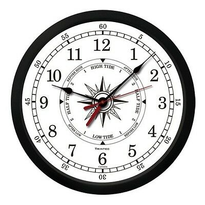 Trintec White Atlantic Time And Tide Clock Brand New Best Price Anywhere!