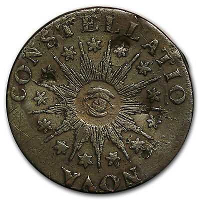 1785 Nova Constellatio Large Date, Pointed Rays VF - SKU#98275