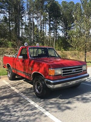 1989 Ford F-150 XLT LARIAT 1989 Ford F-150 V-8 XLT LARIAT 4X4 COLD A/C ALL POWER BLUETOOTH STERO NEW TIRES