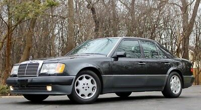 1993 Mercedes-Benz 500-Series 500E 1993 Mercedes 500E W124 Sports Sedan 68K Miles Pearl Black/Black