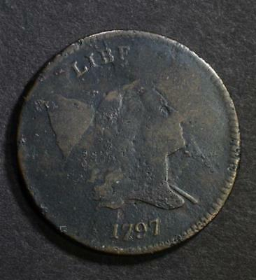 1797 Half Cent Vg/fine Some Pitting