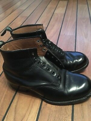 Vintage Stead And Simpson The Dreadnought Boot Uk6 Old Town 1940s peaky blinders