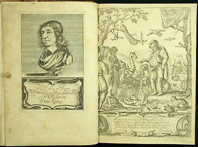 Ogilby THE FABLES OF AESOP 1651 81 PLATES Hollar Cleyn Barlow COMPLETE 1ST ED NR