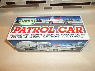 Hess Toy Trucks and Vehicles 1993 Patrol Car New in Box !!!
