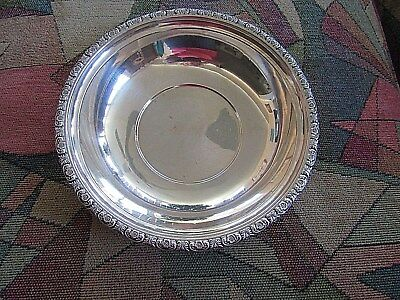 International Sterling Silver Prelude 10 Inch Fruit Bowl D279