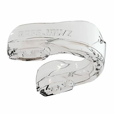 SAFEJAWZ Intro Series Clear Mouthguard MMA Rugby Boxing Ice Hockey