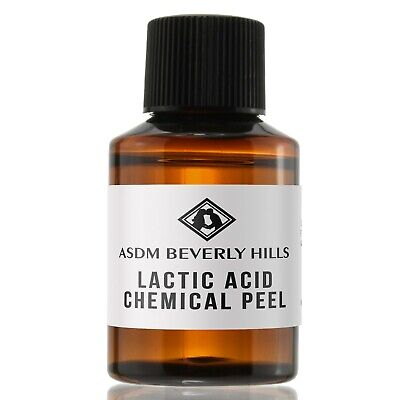 Lactic Acid Peel 60% 1oz Unbuffered, Full Strength, Great for hyperpigmentation