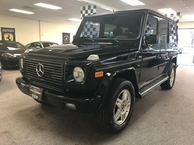 2002 Mercedes-Benz G-Class  Low mile free shipping warranty luxury 4x4 1 owner dealer serviced finance cheap
