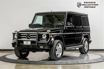 2014 Mercedes-Benz G-Class  2014 Mercedes-Benz G 550 G 550 G-Class 2 Owner Clean Carfax Well Kept
