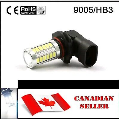 2pcs 9005 HB3 9055 WHITE 8000k Led Bulbs 33SMD Fog Driving Light 9040 9045 9140