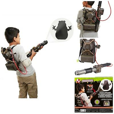 Ghostbusters Electronic Proton Pack Projector Glow In the Dark Toy Collection