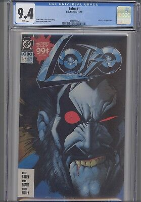 Lobo #1  CGC 9.4 1990 Marvel with LEGION Appearance : NEW CGC Frame
