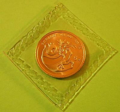 1984 China Panda 5 Yuan 1/20 oz. GOLD COIN Original Seal