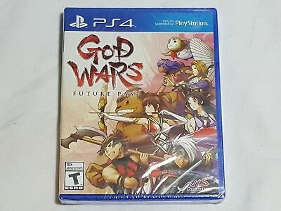 NEW God Wars Future Past Playstation 4 Game SEALED PS4 rpg US NTSC