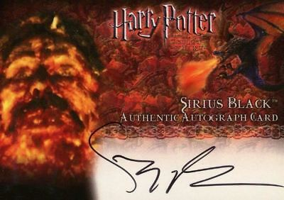 Harry Potter and the Goblet of Fire Gary Oldman Autograph Card