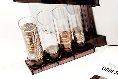 Coin sorter. Automatic Coin Sorter Emerson GREAT! sort all your coins with ease!