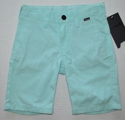 Little Boy's Youth Hurley Flat Front Artisan Teal Shorts Sizes 5, 6 & 7