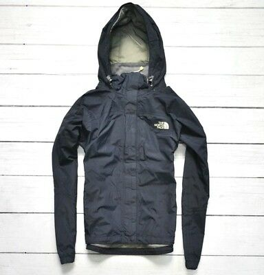 THE NORTH FACE HyVent Waterproof Womens Jacket Outdoor Black Hiking Size Medium