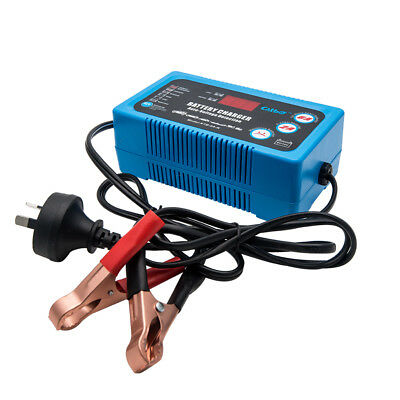 Automatic Motorcycle Battery Charger Float Trickle Maintainer Tender 12V 800mA
