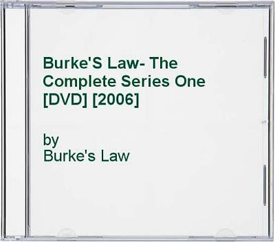 Burke'S Law- The Complete Series One [DVD] [2006] - DVD  PCVG The Cheap Fast