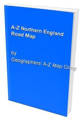 A-Z Northern England Road Map by Geographers' A-Z Map Company Sheet map, folded
