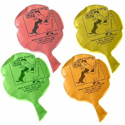 2 6 12 24 Whoopee Cushion Fart Balloon Fart Toys Party Favours Party Bag Fillers