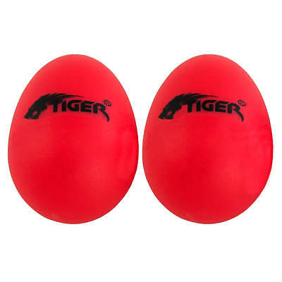 Plastic Egg Shakers - Red Durable Percussion Shakers