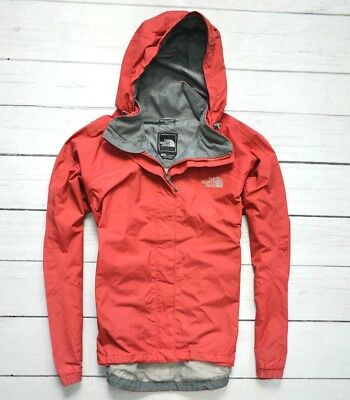 THE NORTH FACE HyVent Waterproof Red Womens Jacket Outdoor Hiking Size Large