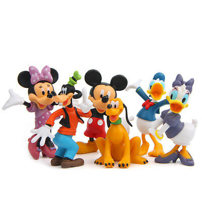 1fd524c0093 2017 DISNEY MICKEY Mouse 6 Pcs Clubhouse Figurine Deluxe Figure Play ...