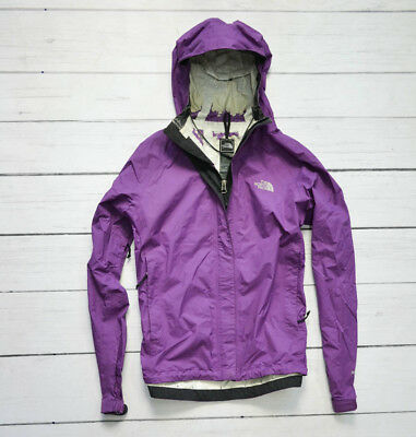 THE NORTH FACE HyVent Waterproof Purple Womens Jacket Outdoor Walking Size Small