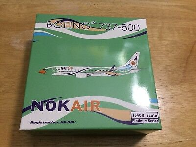 Nok Air B737-800 1:400 scale (Phoenix)