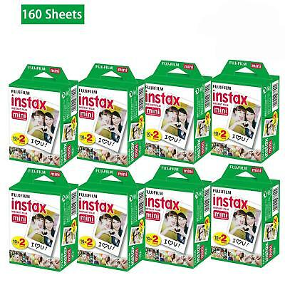 20~200 Sheets Fujifilm Instax Mini Film Instant Photos 7s 8 25 90 Polaroid 300