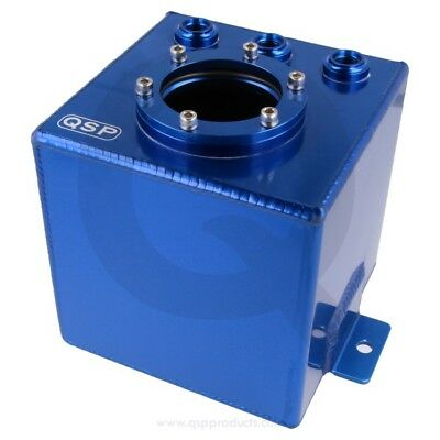 Alloy fuel / injection catchtank Blue 1 L