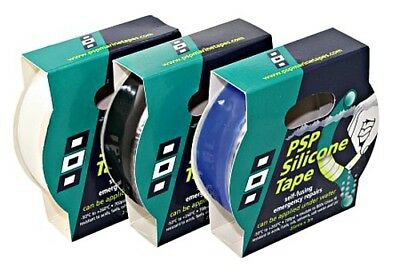 PSP Silicone tape 25mm x 3m black