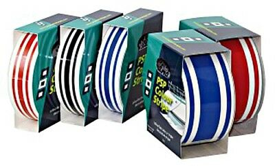 PSP Marine Colour 3-Stripe Tape 19mm x 10m blue