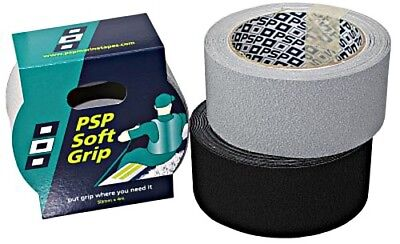 PSP Soft Grip Anti-slip Tape 50mmx 4m grey