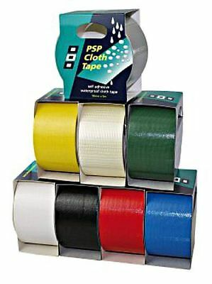 PSP CLOTHTAPE Self-adhesive marine webbing tape 50mm x 50m white