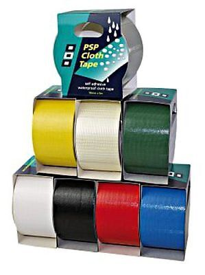 PSP CLOTHTAPE Self-adhesive marine webbing tape 50mm x 50m green