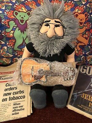 Jerry Garcia Doll Grateful Dead And Company Newspaper 1995⭐️8