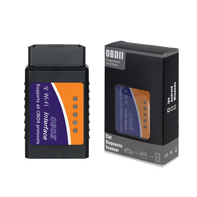 WIFI ODB-II ELM327 Versione 1.5 auto moto diagnostica reset obd2 ANDROID IOS PC