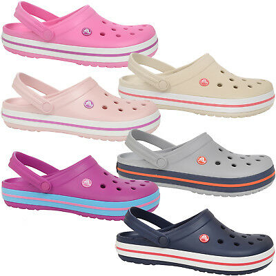 Crocs Crocband Mens Womens Relaxed Fit Unisex Adults Sandals Clogs Shoes