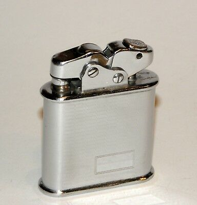 nice 1931 art deco engine turned swiss thorens oriflam automatic petrol lighter