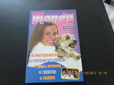 Mandy   Annual  2001 Girls  Book  Very  Good  For  Age