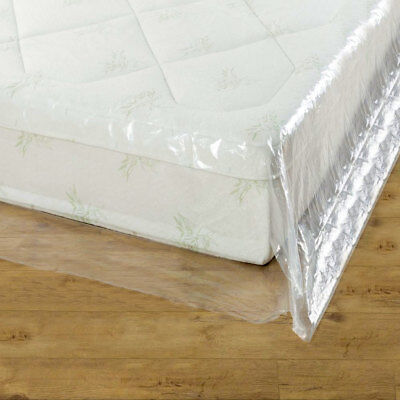 GroundMaster Durable Mattress Cover Protective Plastic Storage Bed Bags