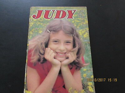 Judy   Book For   Girls  1983 Very  Good  For  Age