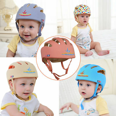 Baby Toddler Safety Helmet Headguard Harnesses Kids Soft Protection Hats Cap AU