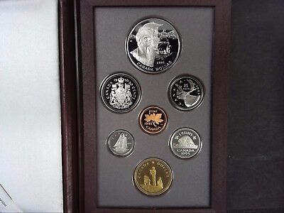 1995 Canada Special Edition Double Dollar Proof Set - With Box and COA