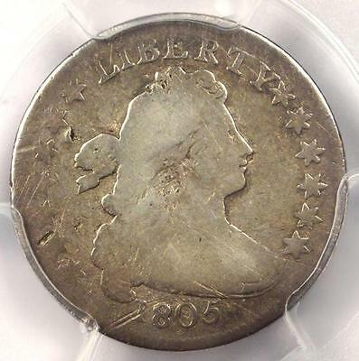 1805 Draped Bust Dime 10C JR-2 - Certified PCGS VG Details - Rare Coin!