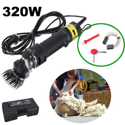Sheep Shears Goat Clippers 320W Farm Livestock Supplies Animal Shave Grooming CE